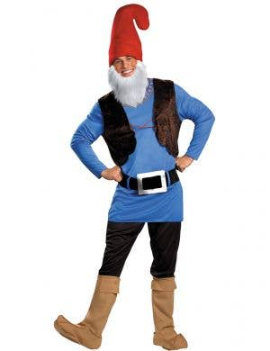 Men's Papa Smurf Dress Up Costume Main Image