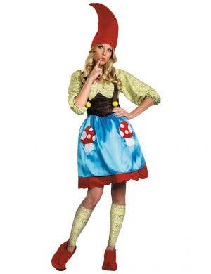 Women's Miss Gnome Smurfs Costume Main Image