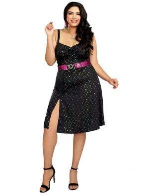 Women's Sexy 70's Disco Diva Dress Up Costume