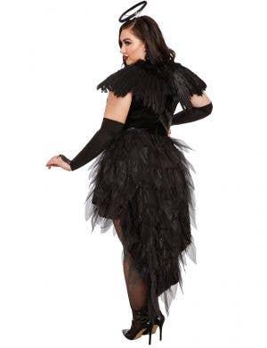 Angel of Darkness Women's Deluxe Plus Size Halloween Costume