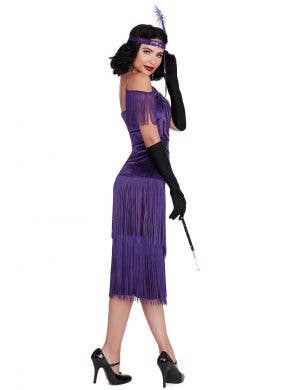 Miss Ritz Women's Purple 1920's Gatsby Costume