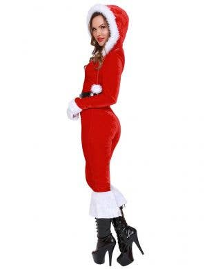 Ms Claus Women's Sexy Red and White Christmas Costume