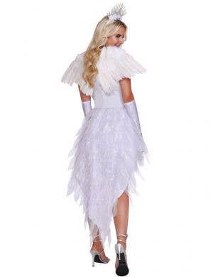 Angel Beauty Deluxe Women's Sexy Fancy Dress Costume