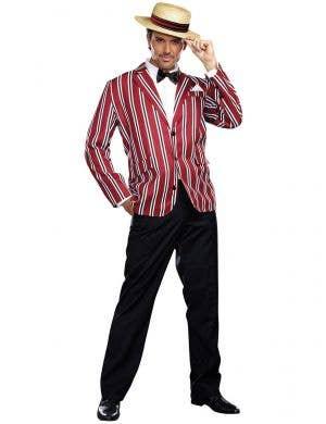 Men's Good Time Charlie 1920's Barbershop Costume
