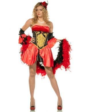 Women's Circus Showgirl Fancy Dress Main Image