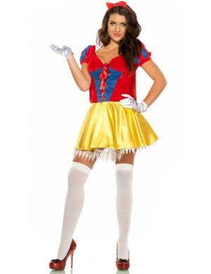 Sexy Snow White Women's Fairytale Fancy Dress Costume