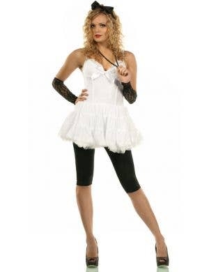 Women's 80's Material Girl Fancy Dress Main Image