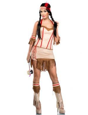 Tribal Babe Women's Sexy Indian Costume