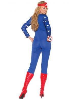 American Hero Sexy Women's Superhero Costume