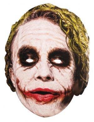Flat Cardboard The Joker Costume Mask Main Image