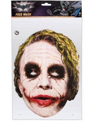 DC Comics Joker 2D Cardboard Costume Mask