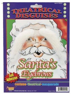 White Santa Eye Brows
