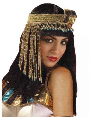 Cleopatra Beaded Adult's Headpiece