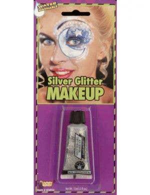 Sparkly Silver Glitter Gel Makeup