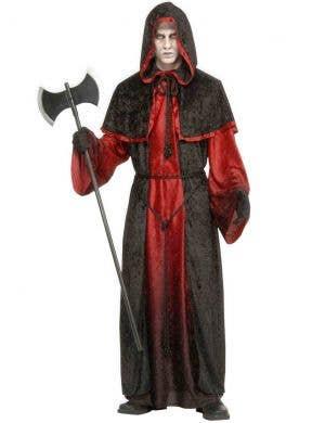 Demons and Devils Men's Deluxe Halloween Costume Robe