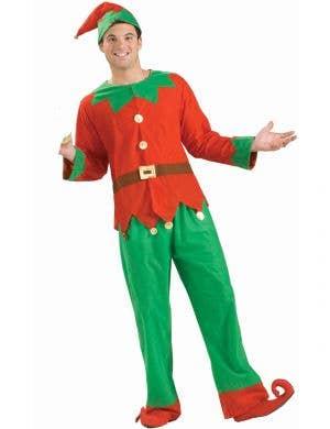 Classic Christmas Elf Unisex Adult's Costume