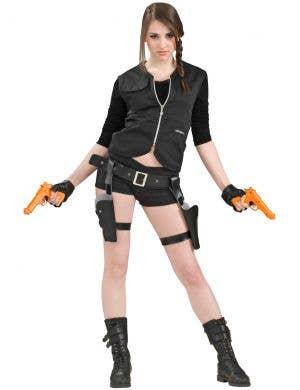 Thigh Holster and Guns Costumer Weapon Set