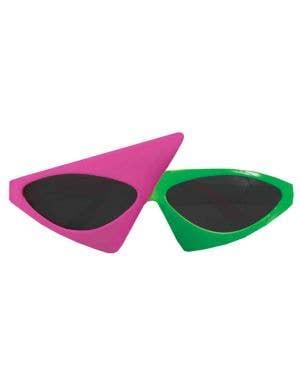 80's To The Maxx Two Tone Sunglasses