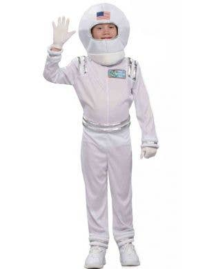 Boy's Space Astronaut Dress Up Costume Front View