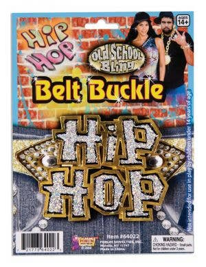 Hip Hop Gold Metal Belt Buckle Costume Accessory