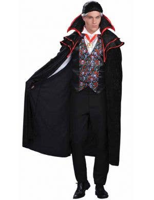 Baron Von Blood Vampire Men's Halloween Costume