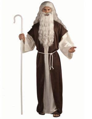 Biblical Times Men's Religious Shepherd Fancy Dress Costume Main Image