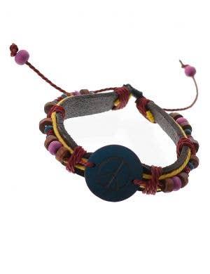 Generation Hippie Peace 1970's Handmade Costume Bracelet