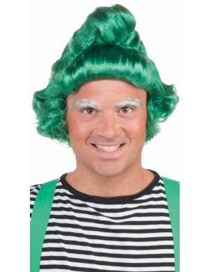 Fairytale Green Adult's Novelty Oompa Loompa Costume Wig