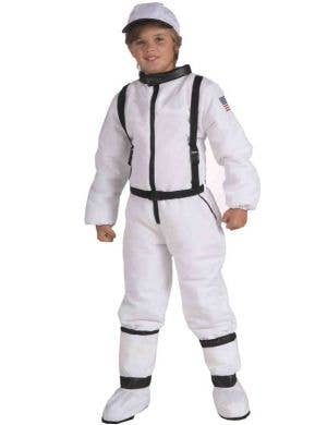 Kid's Space Explorer Astronaut  Costume Front View