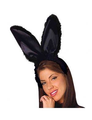 Bunny Ears and Tail Set - Black