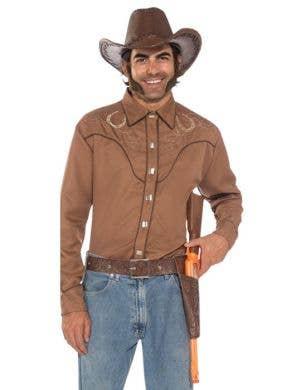 Wild West Cowboy Deluxe Gun and Holster Set