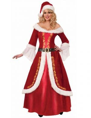 Deluxe Womens Christmas Costume Main Image