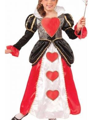Sweetheart Queen Deluxe Girls Costume