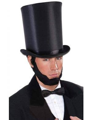 Abraham Men's Extra Tall Black  Top Hat