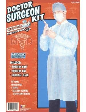 Surgeon Scrubs Medical Doctor Costume Kit