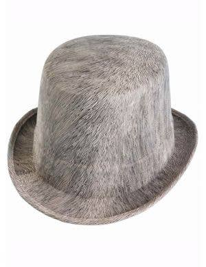 Ghostly Grey Halloween Costume Top Hat