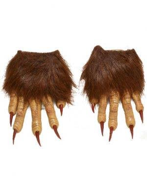 Hairy Werewolf Hands Costume Accessory