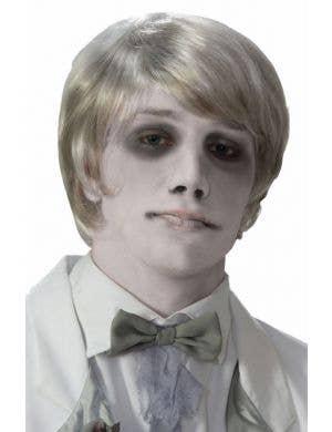 Ghostly Gentleman Men's Halloween Wig
