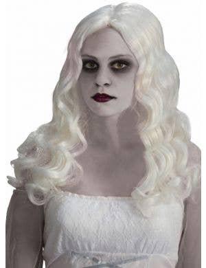 Ghostly Spirits Women's White Halloween Wig