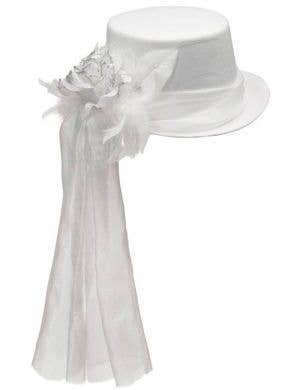 Ghostly Spirits White Top Hat