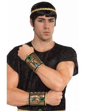 Egyptian Pharaoh Adults Wrist Cuffs