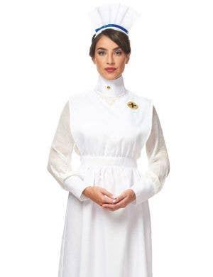1800's Vintage Nurse Women's Fancy Dress Costume