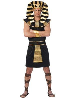 Egyptian King Men's Fancy Dress Costume Front View