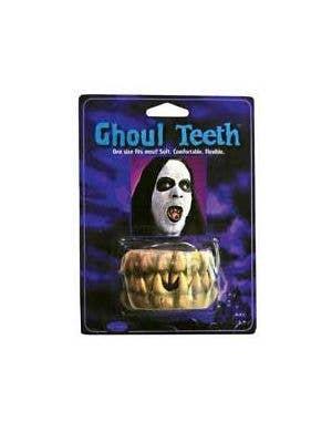 Ghoul Halloween Costume Accessory Teeth