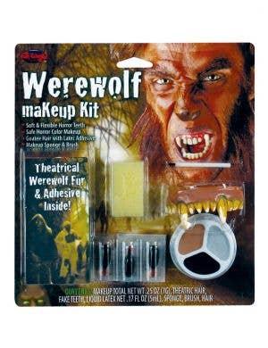 Werewolf Halloween Costume Makeup Kit