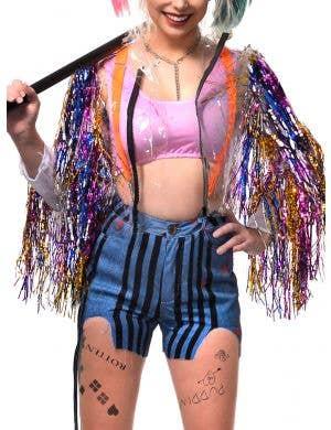 Birds of Prey Harley Quinn Inspired Women's Plus Size Costume