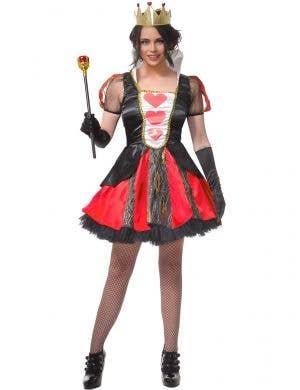 Queen of Hearts Women's Cheap Dress Up Costume