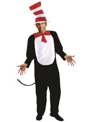 Dr Seuss Inspired Cat in the Hat Costume for Men