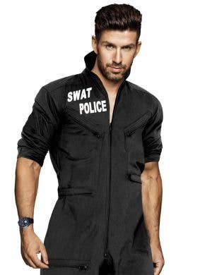 SWAT Uniform Men's Fancy Dress Costume