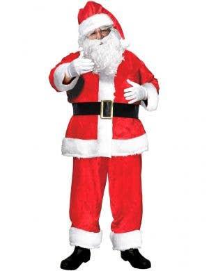 Mens Santa Claus Suit Christmas Costume